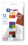 FIMO LEATHER-EFFECT SET OF 12 COLOURS 8013 C12-2