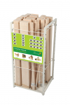 BALSA WOOD DISPLAY ASSORTMENT OF 24 X 36inch STRIPS