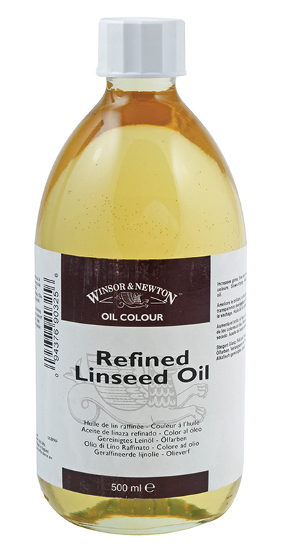 WN REFINED LINSEED OIL 500ml 3049748
