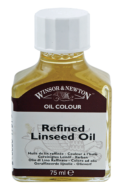 WN REFINED LINSEED OIL 75ml 3021748
