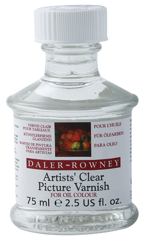 DR ARTISTS' CLEAR PICTURE VARNISH GLOSS 75ml 114007800