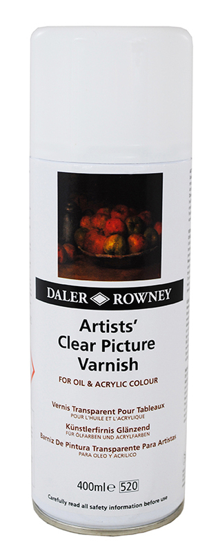DR CLEAR PICTURE VARNISH AEROSOL SPRAY 400mL 114400800