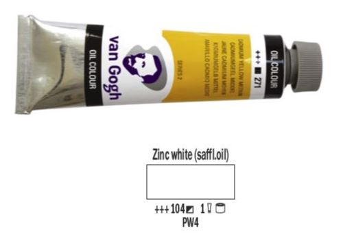 ZINC WHITE VAN GOGH OIL 40ml