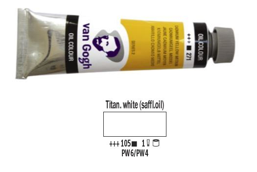 TITANIUM WHITE VAN GOGH OIL 40ml