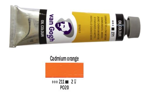 CADMIUM ORANGE VAN GOGH OIL 40ml