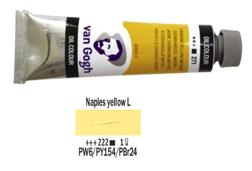 NAPLES YELLOW LIGHT VAN GOGH OIL 40ml
