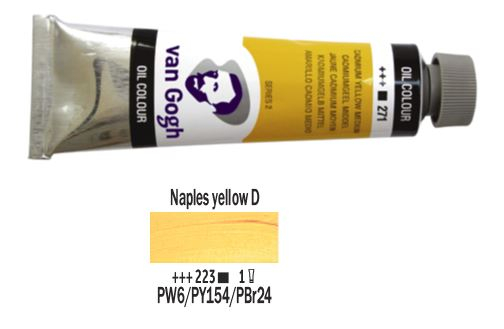 NAPLES YELLOW DEEP VAN GOGH OIL 40ml