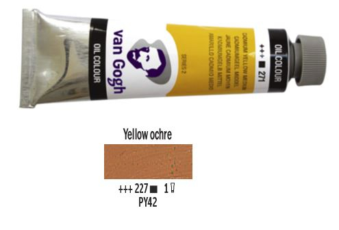 YELLOW OCHRE VAN GOGH OIL 40ml