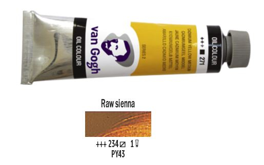 RAW SIENNA VAN GOGH OIL 40ml
