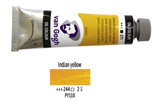 INDIAN YELLOW VAN GOGH OIL 40ml