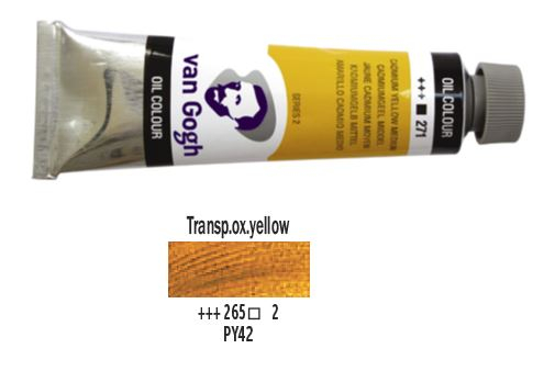 TRANSPARENT OXIDE YELLOW VAN GOGH OIL 40ml
