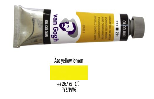 AZO YELLOW LEMON VAN GOGH OIL 40ml