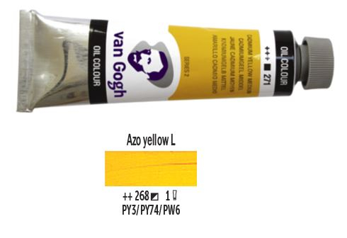 AZO YELLOW LIGHT VAN GOGH OIL 40ml