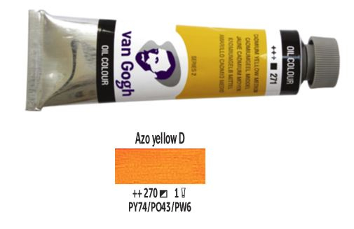 AZO YELLOW DEEP VAN GOGH OIL 40ml