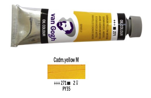 CADMIUM YELLOW MEDIUM VAN GOGH OIL 40ml