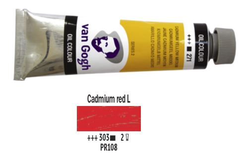 CADMIUM RED LIGHT VAN GOGH OIL 40ml