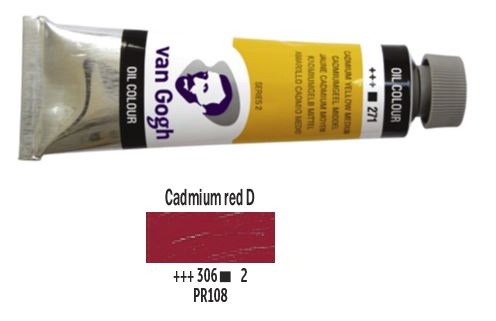 CADMIUM RED DEEP VAN GOGH OIL 40ml