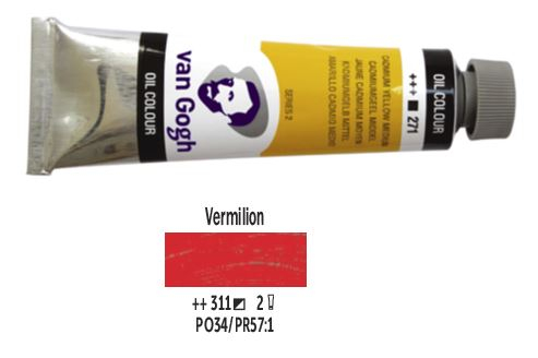 VERMILION VAN GOGH OIL 40ml