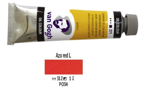 AZO RED LIGHT VAN GOGH OIL 40ml