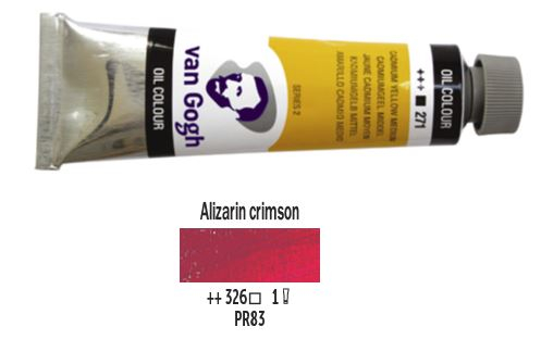 ALIZARIN CRIMSON VAN GOGH OIL 40ml