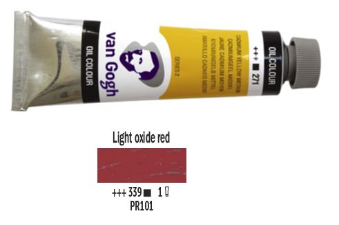 LIGHT OXIDE RED VAN GOGH OIL 40ml