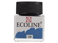 SKY BLUE CYAN ECOLINE JAR 30ml