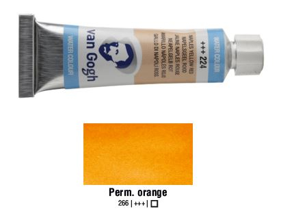 PERMANENT ORANGE VAN GOGH WATERCOLOUR 10ml