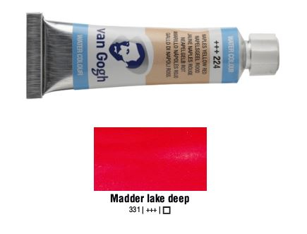 MADDER LAKE DEEP VAN GOGH WATERCOLOUR 10ml