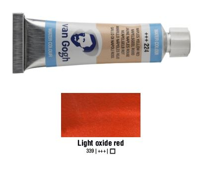 LIGHT OXIDE RED VAN GOGH WATERCOLOUR 10ml