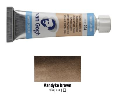 VANDYKE BROWN VAN GOGH WATERCOLOUR 10ml