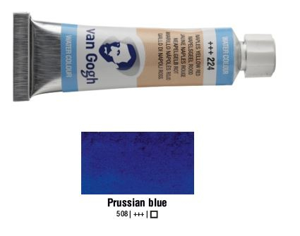 PRUSSIAN BLUE VAN GOGH WATERCOLOUR 10ml