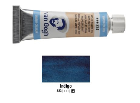INDIGO VAN GOGH WATERCOLOUR 10ml