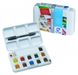 12 PAN POCKET BOX 20HP8631 VAN GOGH WATERCOLOUR SET