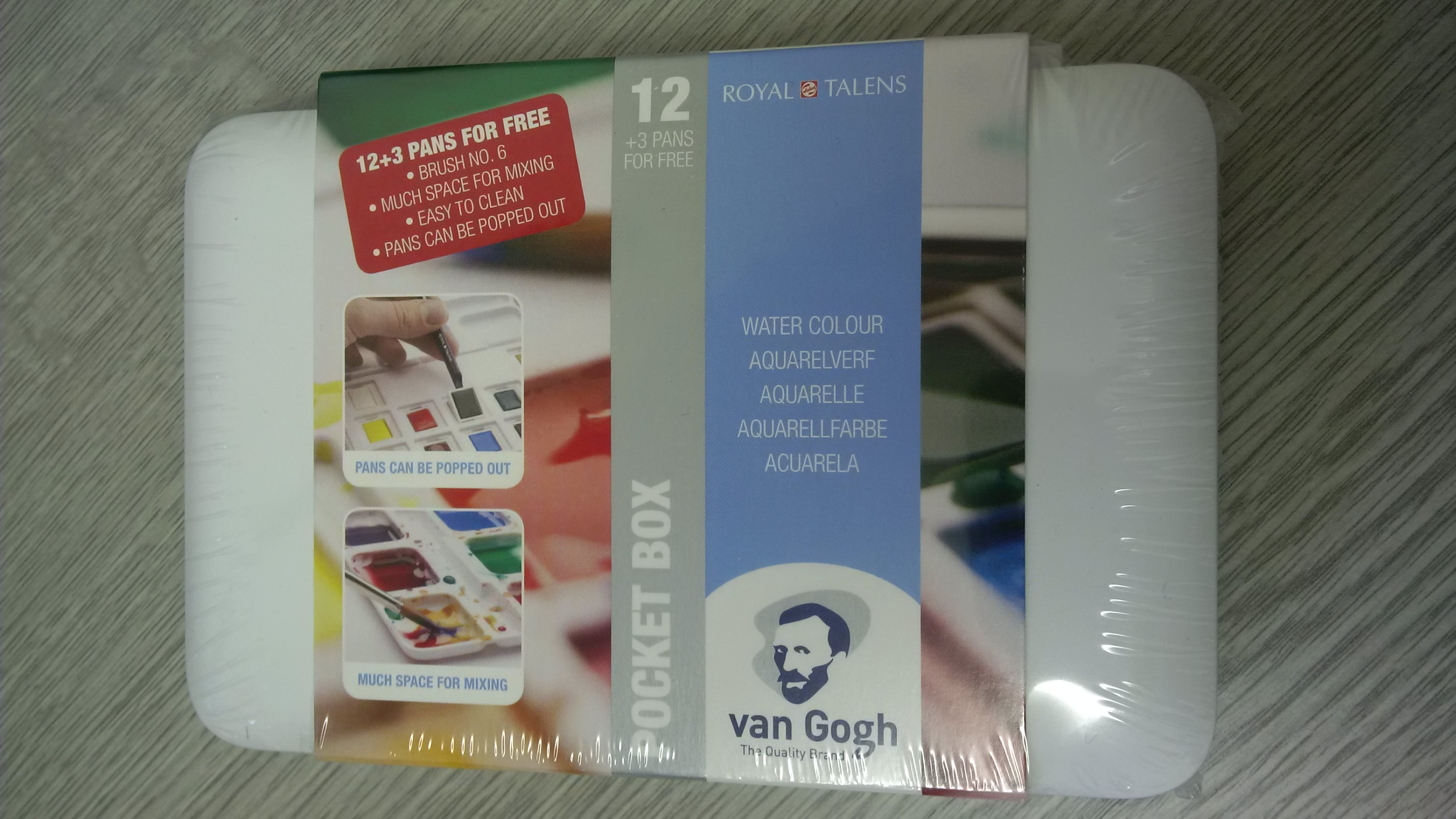 HP8612+3 VAN GOGH WATERCOLOUR SET