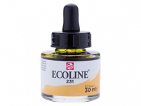 ECOLINE 231 GOLD OCHRE 30ml WITH PIPETTE 11252311