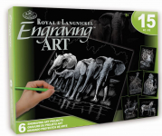 ENGRAVING ART ACTIVITY SET 1 ROYAL & LANGNICKEL AVS-SIL204