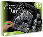 ENGRAVING ART ACTIVITY SET 2 ROYAL & LANGNICKEL AVS-SIL205