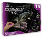 ENG ART HOLOGRAPH ACTIVITY SET ROYAL & LANGNICKEL AVS-HOLO207
