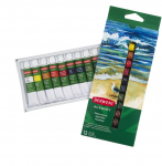 ACADEMY WATERCOLOUR PAINTS 12 x 12ml 2302404 by DERWENT