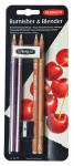 DERWENT BLENDER & BURNISHER PENCIL BLISTER 2301774
