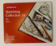 DERWENT SKETCHING COLLECTION TIN OF 24 34306