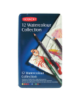 DERWENT WATERCOLOUR COLLECTION TIN OF 12 0700303