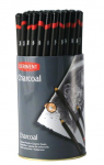 DERWENT CHARCOAL PENCILS DISPLAY TUB OF 72 36300