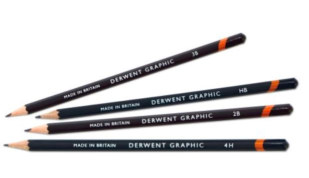 DERWENT GRAPHIC PENCILS 2B 34174