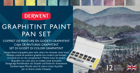 DERWENT GRAPHITINT 12 PAN SET 2305790
