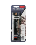 DERWENT WS GRAPHITONE BLISTER WITH ACCESSORIES 0700662
