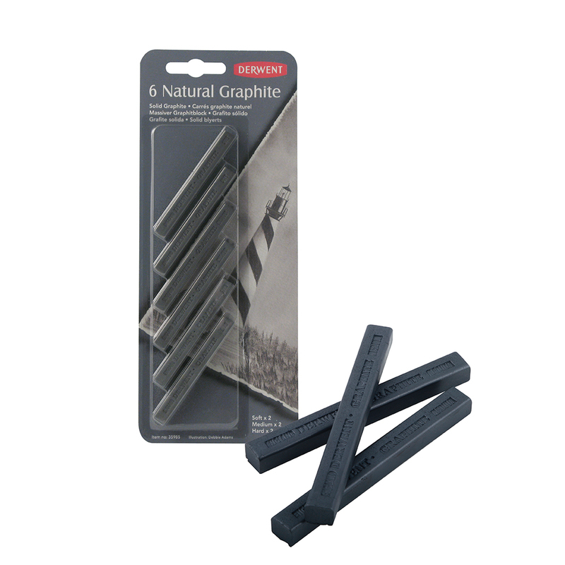 DERWENT NATURAL GRAPHITE SOFT 35986