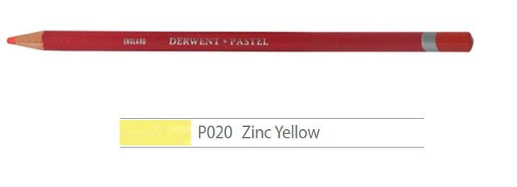 DERWENT PASTEL PENCILS ZINC YELLOW 2300231