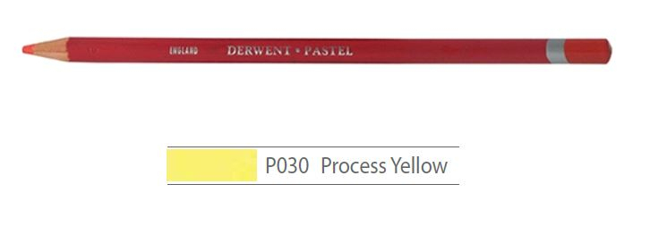 DERWENT PASTEL PENCILS PROCESS YELLOW 2300232