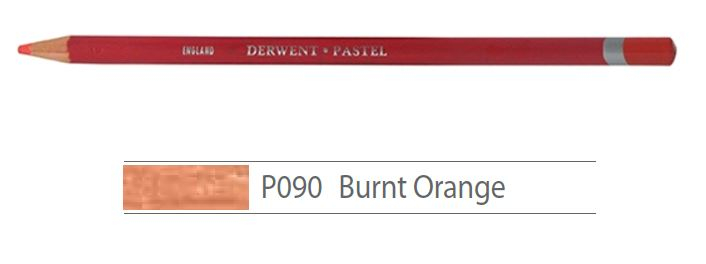 DERWENT PASTEL PENCILS BURNT ORANGE 2300238